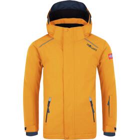 TROLLKIDS Holmenkollen PRO Veste de ski Enfant, golden yellow/mystic blue